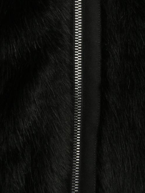 Полупальто меховое - Деталь
