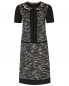 Платье-мини из шерсти с короткими рукавами Alberta Ferretti  –  Общий вид