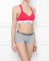Трусы из хлопка с контрастной резинкой Calvin Klein Jeans  –  МодельОбщийВид