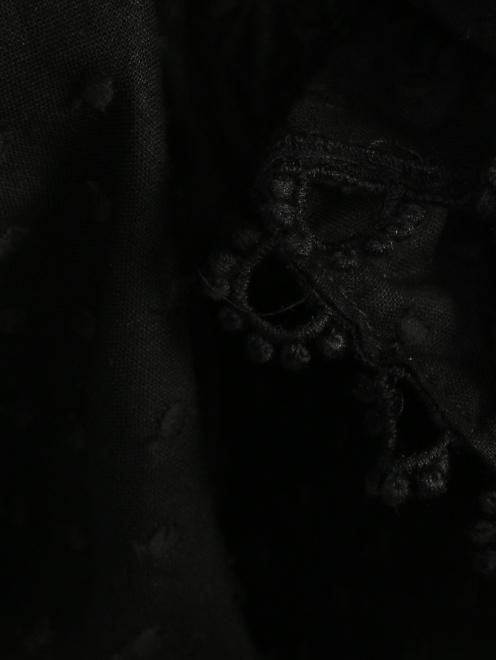 Платье из хлопка, с отделкой кружевом - Деталь1