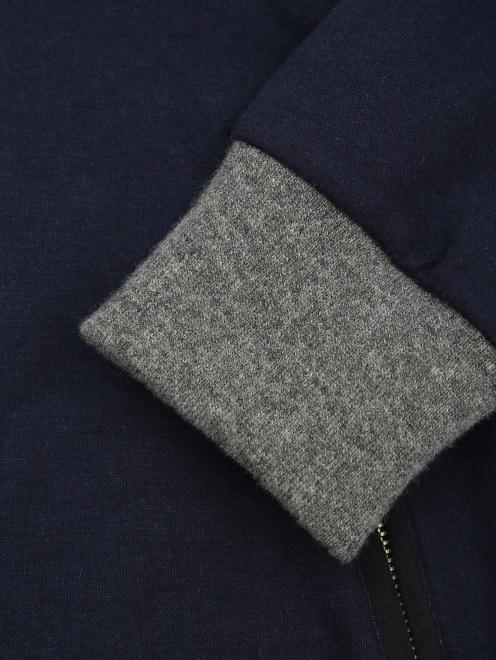 Куртка трикотажная из хлопка - Деталь1