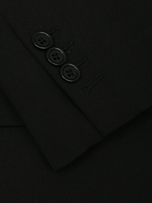 Жакет из шерсти однобортный - Деталь