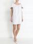 Платье-мини с узором Au Jour Le Jour  –  Модель Общий вид