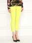 Укороченные брюки из хлопка J Brand  –  Модель Верх-Низ