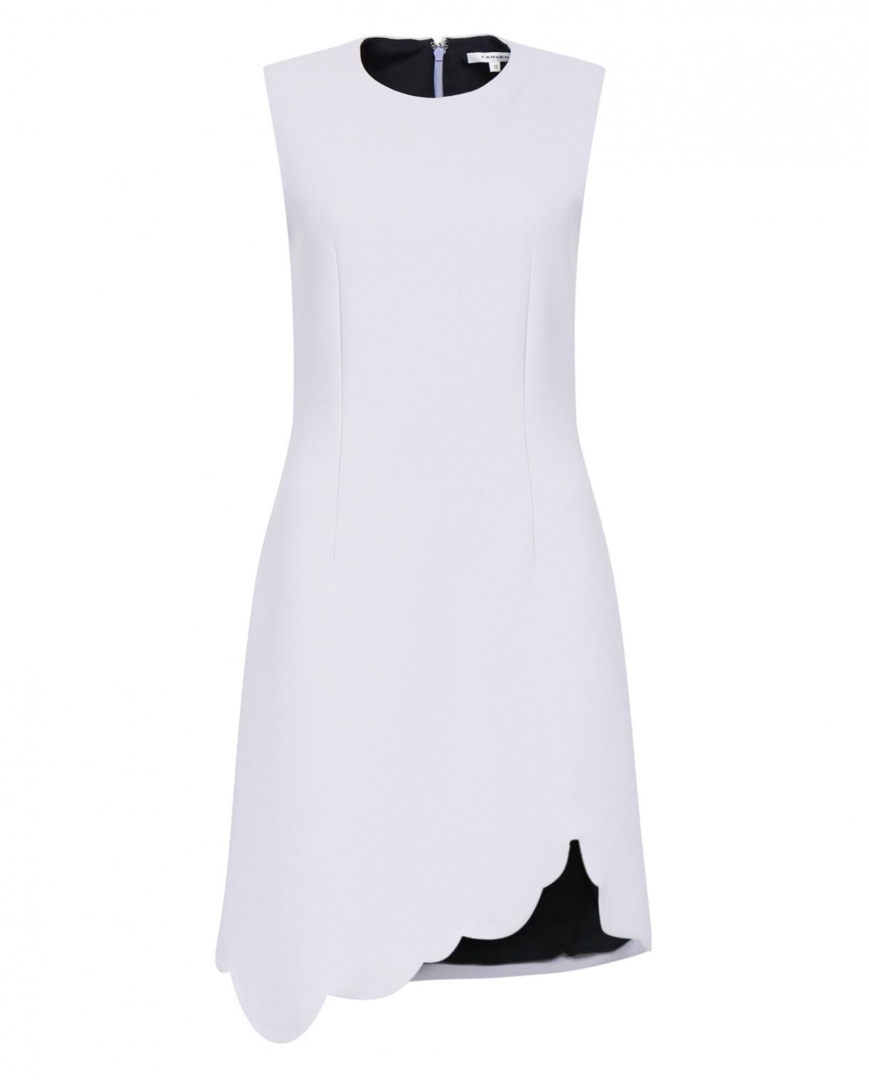 Платье-футляр с ассиметричным кроем Carven  –  Общий вид