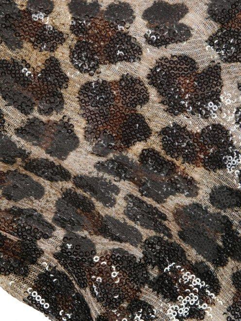Платье декорированное пайетками - Деталь