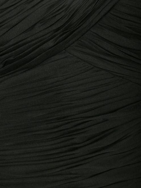 Платье-мини из шелка - Деталь1