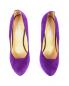 Туфли из замши на высоком каблуке и платформе BURAKUYAN  –  Обтравка3