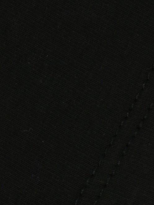 Футболка из хлопка с пайетками - Деталь