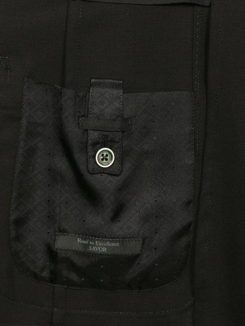 Пиджак из тонкой шерсти - Деталь2