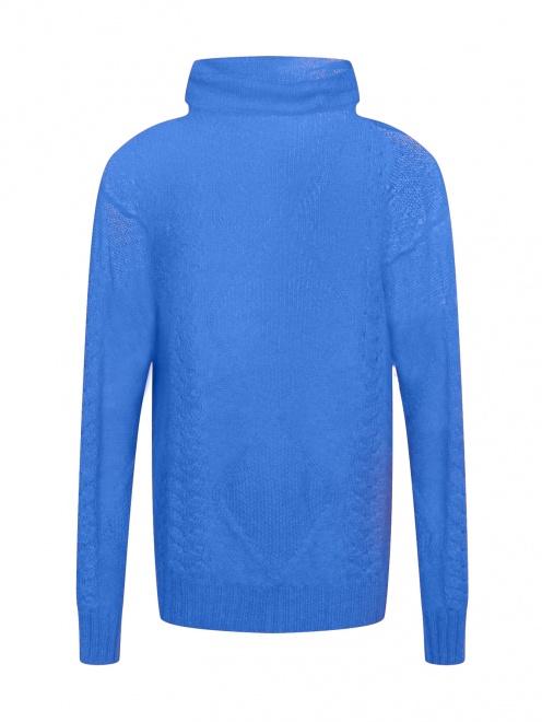Удлиненный свитер из шерсти - Общий вид
