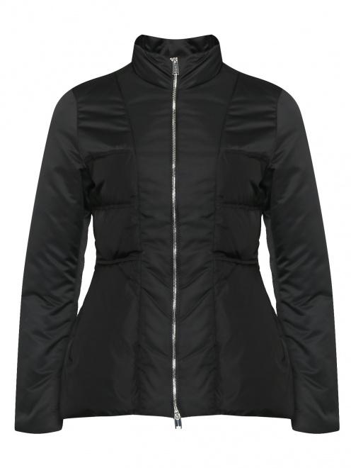 Куртка на молнии приталенного кроя  - Общий вид