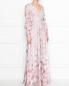 Платье-макси с цветочным узором Max Mara  –  МодельВерхНиз