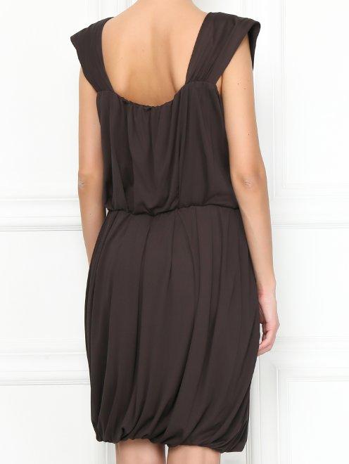 Платье без рукавов - МодельВерхНиз1