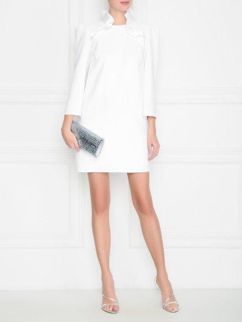 Платье-мини с декором - Общий вид