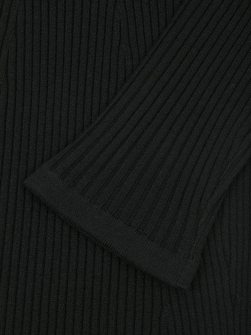 Платье трикотажное из шерсти - Деталь1
