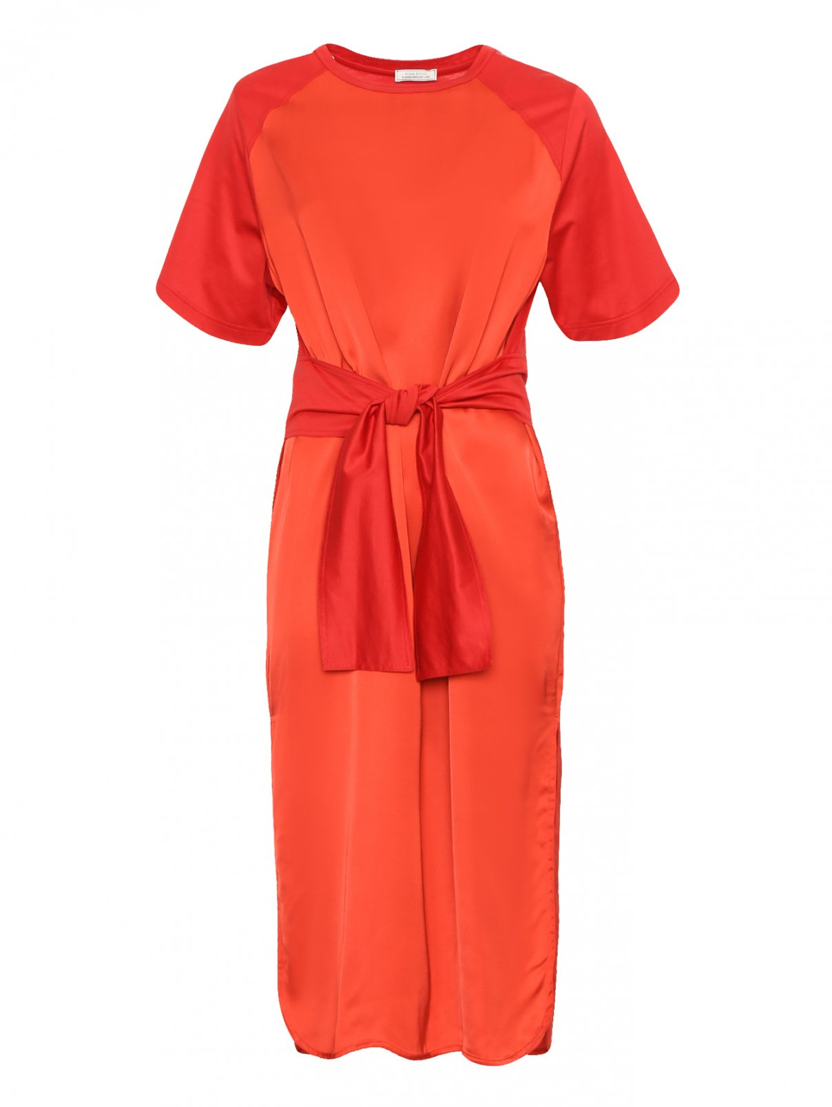 Платье-миди с короткими рукавами Nina Ricci  –  Общий вид