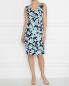 Платье с цветочным узором Persona by Marina Rinaldi  –  МодельОбщийВид