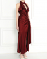 Платье-макси асимметричного кроя с драпировкой Jean Paul Gaultier  –  Модель Верх-Низ