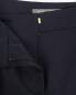 Узкие укороченные брюки из смешанной шерсти Alberta Ferretti  –  Деталь1