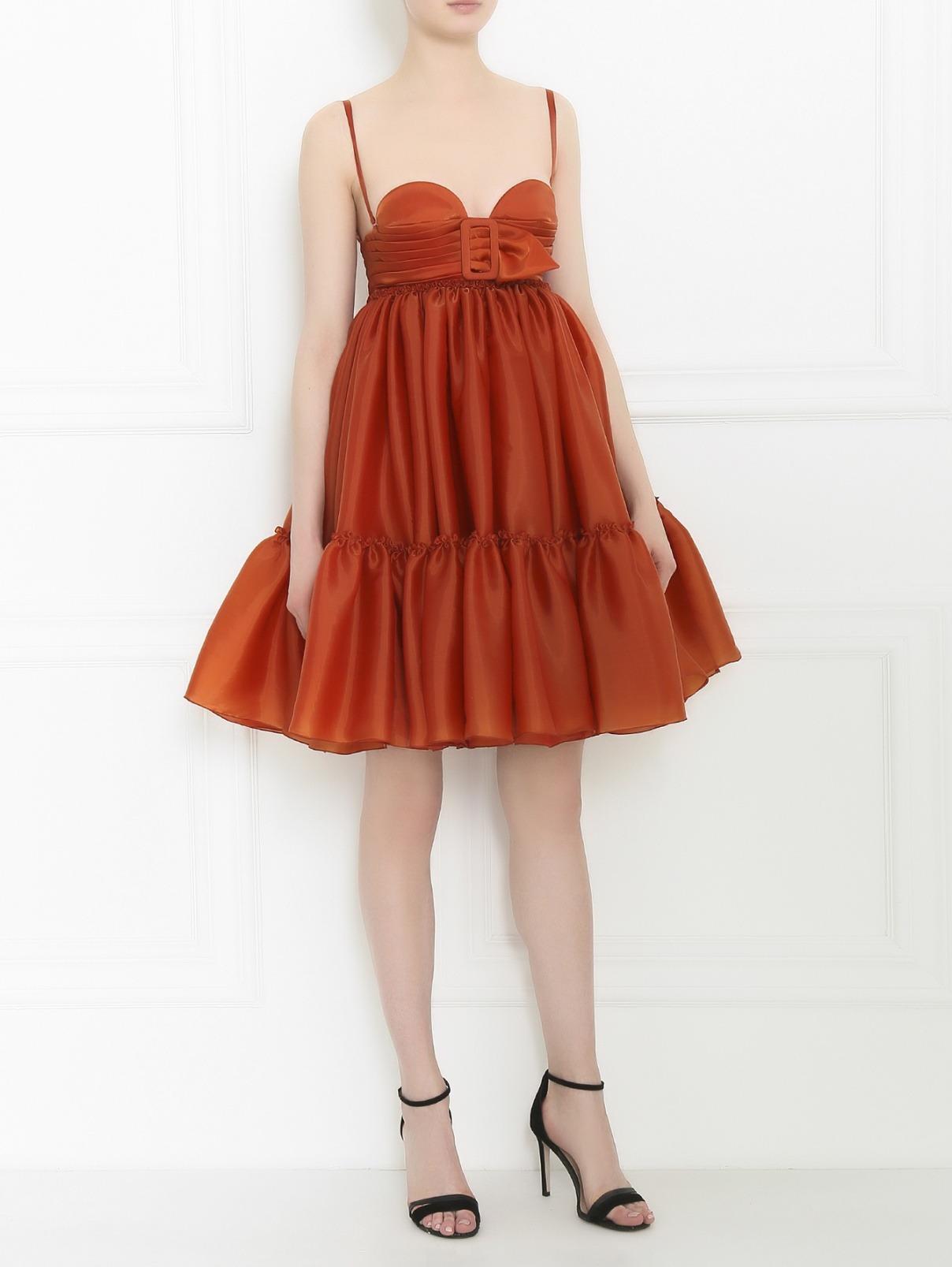 Платье-мини с декоративной отделкой Jean Paul Gaultier  –  Модель Общий вид