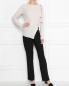 Брюки из шерсти прямого силуэта Diane von Furstenberg  –  МодельОбщийВид