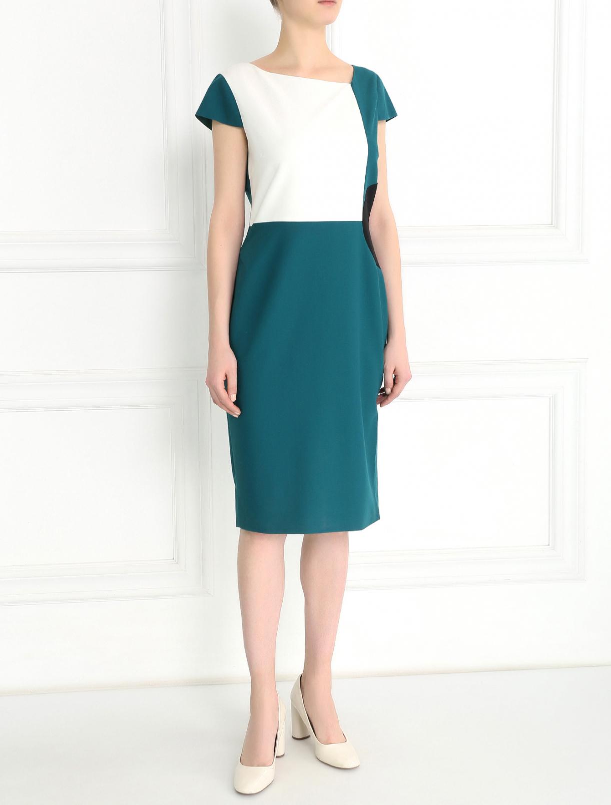 Платье-футляр с короткими рукавами Raoul  –  Модель Общий вид