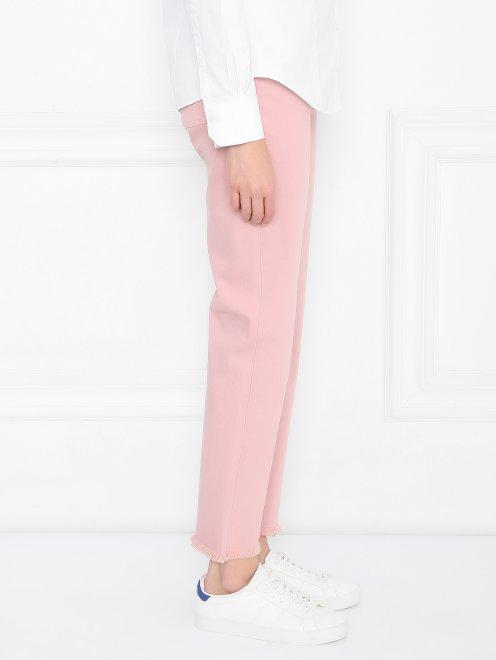 Укороченные джинсы из хлопка - МодельВерхНиз2